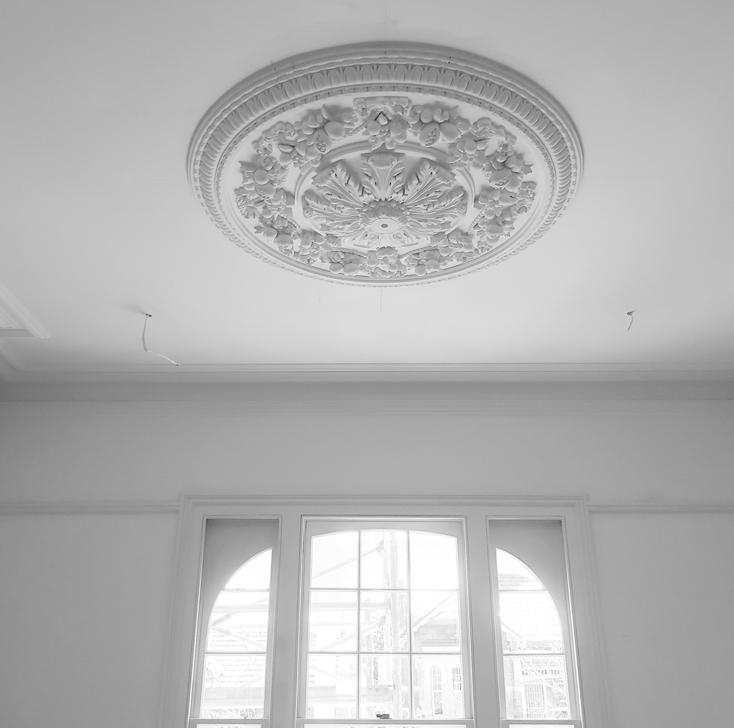Heritage work ceiling rose